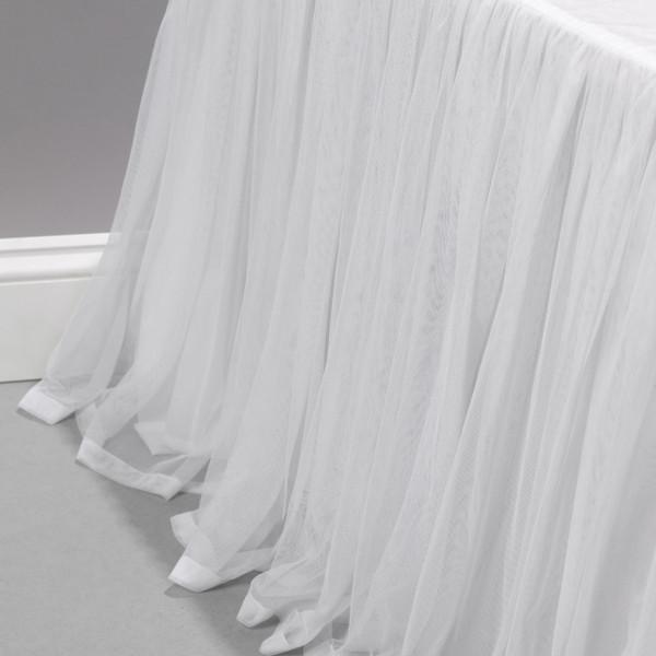 Whisper White Bed Skirt