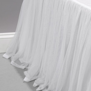 Whisper White Bed Skirt