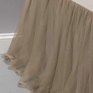Whisper Sable Bed Skirt