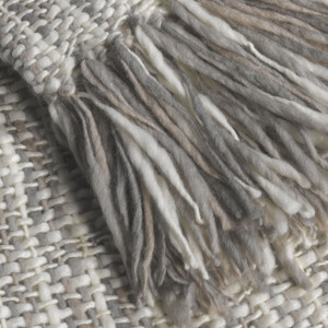 Couture Dreams Cozi Wool Knit Decorative Throw Detail