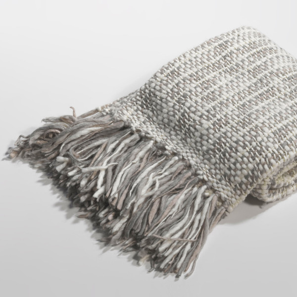 Couture Dreams Cozi Wool Knit Decorative Throw