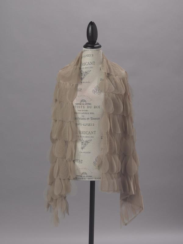 Couture Dreams Chichi Sable Petal  Scarf/Wrap