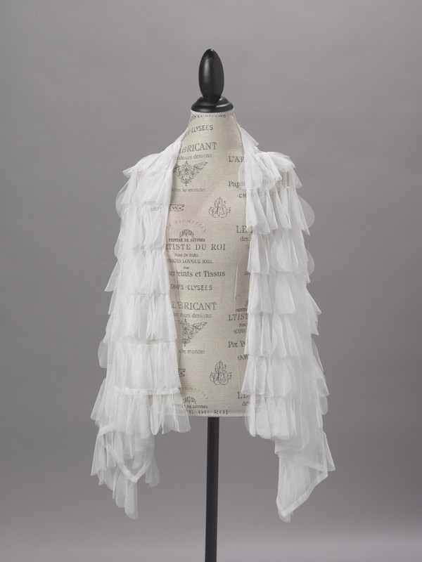 Couture Dreams Chichi White Scarf/Wrap