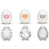 Tenga Egg: Stepper, Silky, Twister