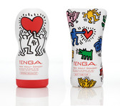 Tenga Keith Haring Edtion: Deep Throat, Soft Tube