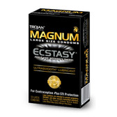 Trojan Magnum Ecstasy Lubricated Condoms 10 packs
