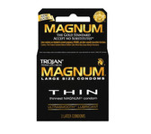 Trojan Magnum Thin Lubricated Condoms 3 packs
