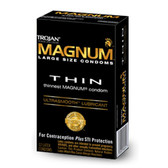 Trojan Magnum Thin Lubricated Condoms 12 packs