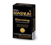 Trojan Magnum Warming Lubricated Condoms 12 Packs