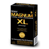 Trojan Magnum X-Large Lubricated Condoms 12 Packs