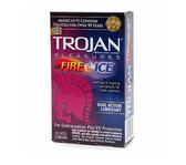 Trojan Fire & Ice Lubricated Condoms12 packs