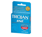 Trojan ENZ Armor Spermicidal Lubricated Condoms 3 packs