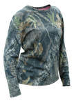Russell Outdoors Womens Explorer LS Shirt Mossy Oak Breakup