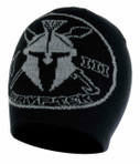 Kryptek Unit Patch Beanie Black