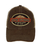 Linton Outdoors Old Fav Trucker Hat Front View Brown