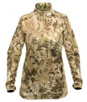 Kryptek Valhalla 2 Women's LS Shirt 1/4 Zip