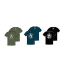 Kryptek Glory Tee available in Olive Heather, Navy Heather and Black