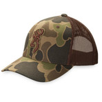 Browning Flashback Cap Front Old School Camo