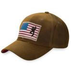 Browning Liberty Wax Cap Dark Brown Front