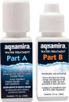 Aquamira Water Treatment Drops comes with 2-1oz bottles and mixing cup.