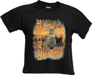 Realtree Youth Black TShirt