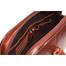 Classic Zip - Around Laptop Bag PI020901 Brown Open