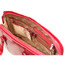 Classic Zip - Around Laptop Bag PI020901 Red Open 2