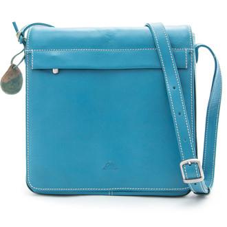 Prima Flap Pouch-Messenger Handbag SAJ-8599/PL Aqua Blue Front