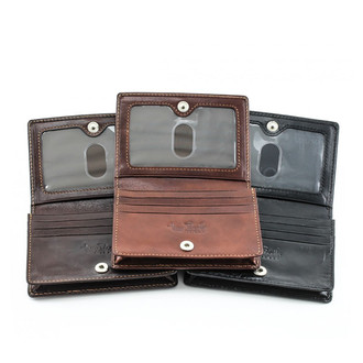 Ultimo Business and Credit Card Wallet with I.D. PI403301 Open