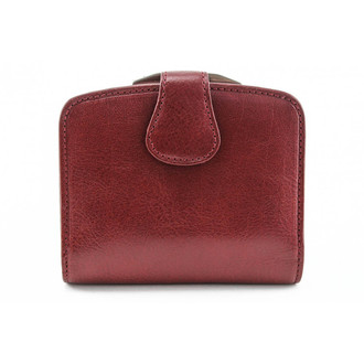 Ultimo Framed Coin Wallet With I.D PI423502 Close Red
