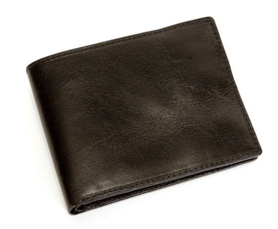 Ultimo Hipster Divided Wallet PI410101 Closed Black