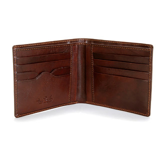 Ultimate Hipster Divided Wallet PI410101 Open Brown