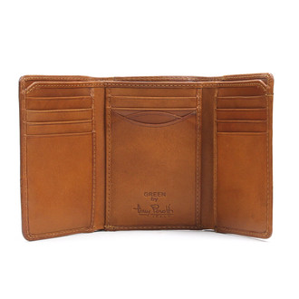 Tony Perotti Mens Italian Cow Leather Classic Trifold Wallet with ID Window