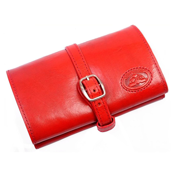 Ultimo Piccolo Jewelry Roll PI621502 Red Front