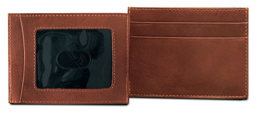 Ultimo Weekend Wallet with I.D. Window PI418502 | Color Cognac
