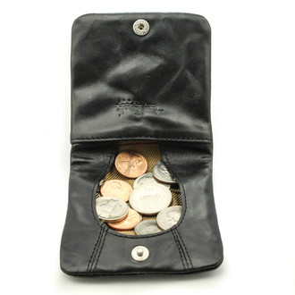 Ultimo Leather Coin Purse and Change Holder