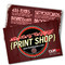 the same day 4x6 flyrs are printed on thick 12 point card stock with your choice of UV gloss or Matte finish