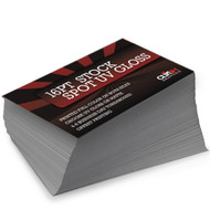 Spot UV Gloss, 16pt Card Stock