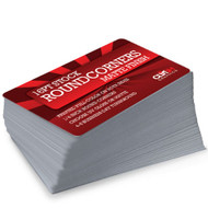 Round Corner Business Cards Extra Thick 16pt