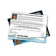 "9"" X 12"" Postcard EDDM Safe for Every Door Direct Mailing Prints"