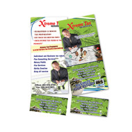8.5 X 3.5 Postcards with tear-off perforation (16pt)