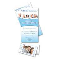 8.5 X 3.5 Postcards with tear-off perforation (12pt)
