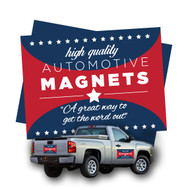 Car magnets are full color, printed on durable 17pt laminated magnet stock. Turnaround time can vary from 4-6 business days.