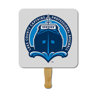 Rounded Square Hand Fan