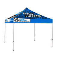 10' X 10' Custom Printed Event Tent
