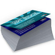 Our full color business cards are printed cheap and fast. 5,000 business cards are done the next day Atlanta Georgia and  Miami Florida. Same day printing is available in Atlanta for increments of 250, 500 and 1,000. 1,000 full color business cards are printed in two days. In New York, California, and Chicago the turnaround is 2-4 days. We offer  12 point, 14 point and 16 point card stocks. Business cards are always free shipping, full color, both sides and printed on quality card stocks.