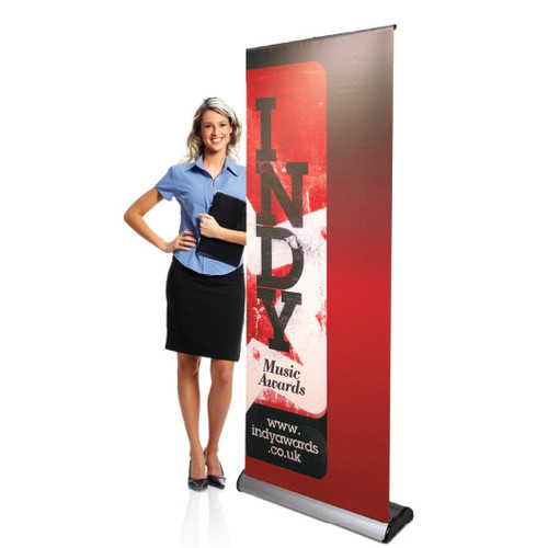 Full Color Banner With Supreme Banner Stand Clash Graphics - Vinyl banners atlanta
