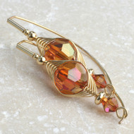 Swarovski Crystal Copper Earring