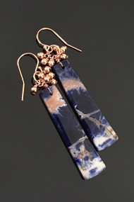 Sunset Sodalite Long Tabs