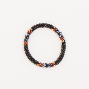 Beaded Roll On Bangle
